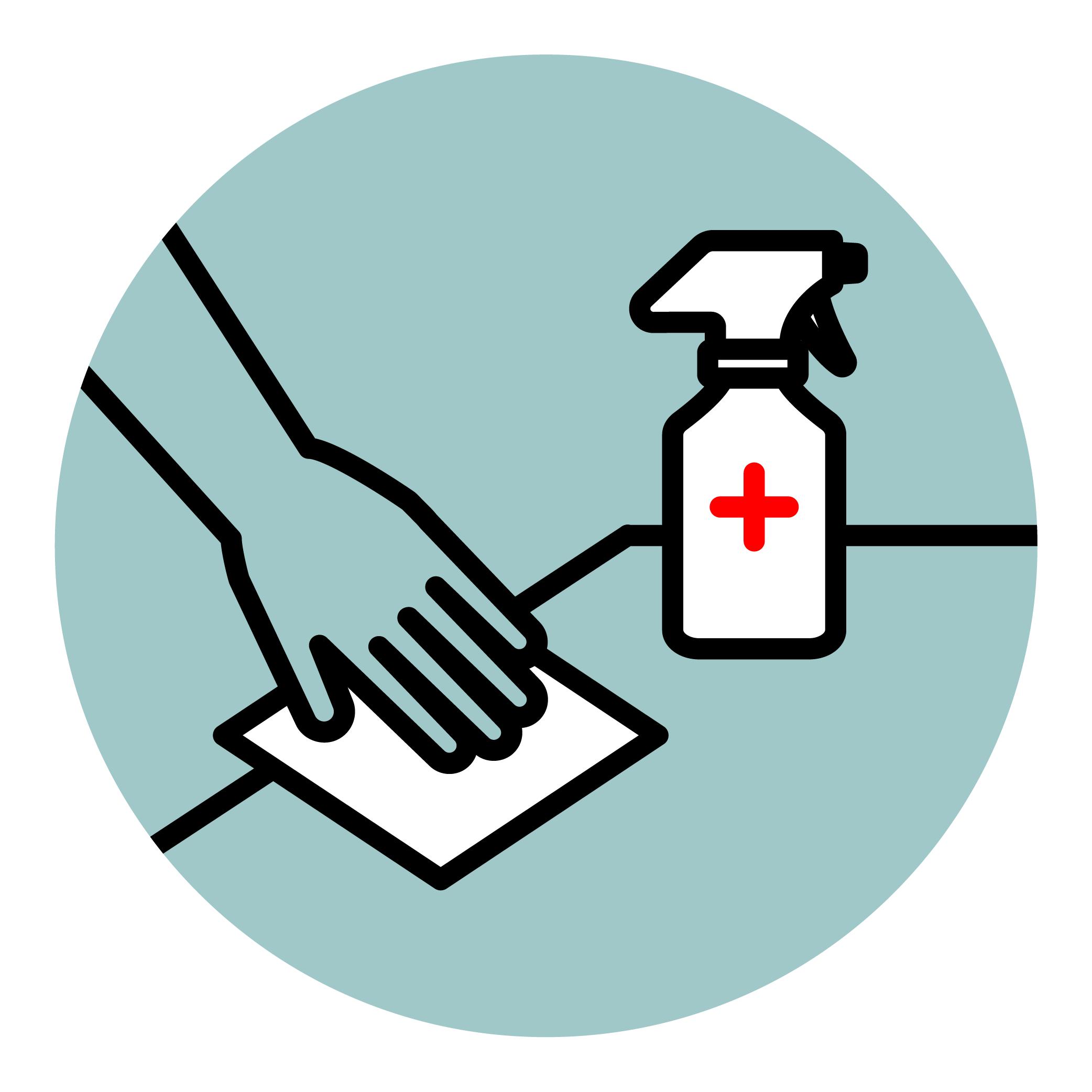 STAC protocolo de limpieza covid19